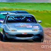 Mazda Speed Art Print
