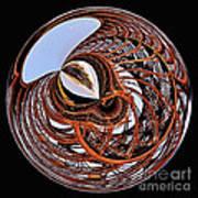 Maze Of Steel Art Print
