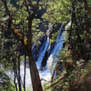 Mcarthur-burney Falls Side View Art Print