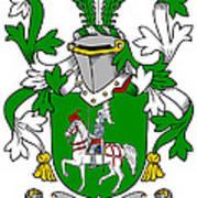 Mccaffrey Coat Of Arms Irish Art Print