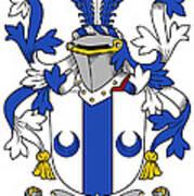 Mccall Coat Of Arms Irish Art Print