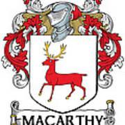 Mccarthy Coat Of Arms Cork Ireland Art Print