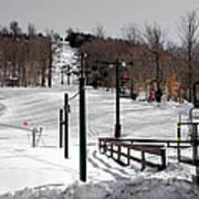 Mccauley Mountain Ski Area Vi- Old Forge New York Art Print
