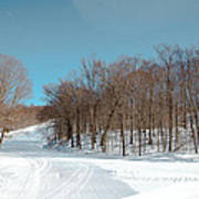 Mccauley Mountain Ski Area Vii- Old Forge New York Art Print