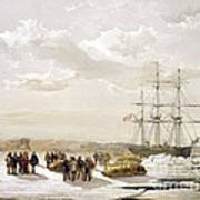 Mcclure Arctic Expedition, 1850s Art Print