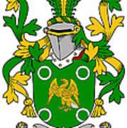 Mcconville Coat Of Arms Irish Art Print