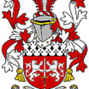 Mccorcoran Coat Of Arms Irish Art Print