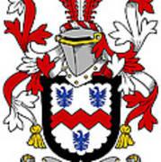 Mccormick Coat Of Arms Irish Art Print
