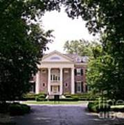 Mccormick Mansion From The Drive Art Print