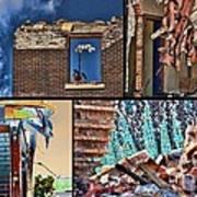 Mcdaid Collage Art Print