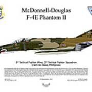 Mcdonnell Douglas F-4e Phantom II Art Print