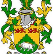 Mcdonogh Coat Of Arms Irish Art Print