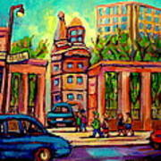 Mcgill University Roddick Gates Montreal Art Print