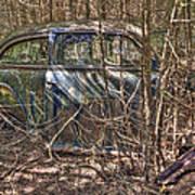 Mcleans Auto Wrecker -13 Art Print