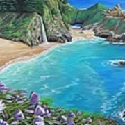 Mcway Falls Art Print