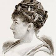 Mdme. Marie Roze, Of Her Majestys Opera Art Print