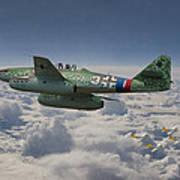 Me 262 - Stormbird Art Print