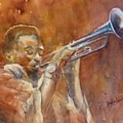 Me And My Trumpet Art Print