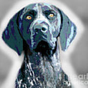 Me Good Dog Art Print by Jo Collins