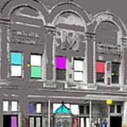 Meaders Theater 1919 Washington D.c. 1919-2010 Art Print
