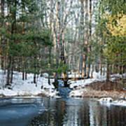 Meadow Brook Pond 1 Art Print