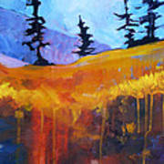 Meadow Mountain Art Print