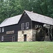 Meadow Run Mill Art Print