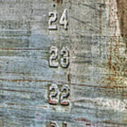 Measure Of Draft Art Print