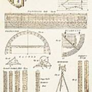Measuring Instruments And Techniques. Art Print