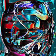 Mechanical Sphere Art Print