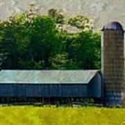 Mechanisville Md Farm Art Print