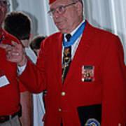 Medal Of Honor Recipient Art Print