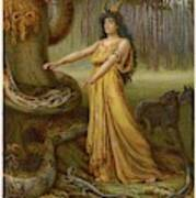 Medea, Daughter Of Aeetes King Art Print