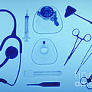 Medical Equipment Art Print