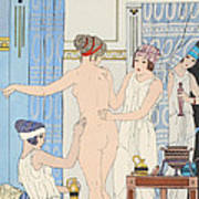 Medical Massage Art Print by Joseph Kuhn-Regnier