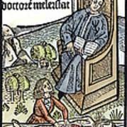 Medical Teaching, 1487 Art Print