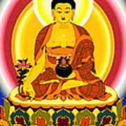Medicine Buddha 10 Art Print