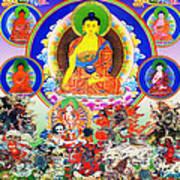 Medicine Buddha 12 Art Print