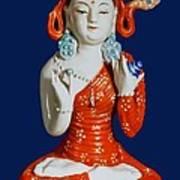 Medicine Buddha 2 Art Print