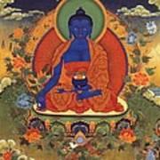 Medicine Buddha 8 Art Print