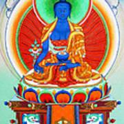 Medicine Buddha 9 Art Print