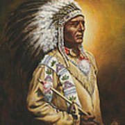 Medicine Chief Art Print