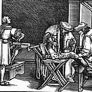 Medicine: Surgery, 1537 Art Print