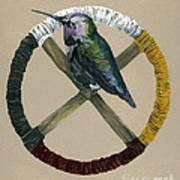 Medicine Wheel Art Print