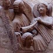 Medieval Angels Art Print