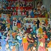 Medieval Banquet Art Print