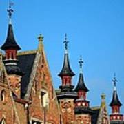 Medieval Buildings Towers And Vanes Art Print