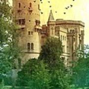 Medieval Castle - Old World  Art Print