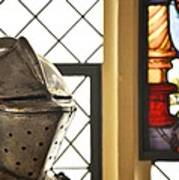 Medieval Helmet Art Print