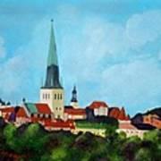 Medieval Tallinn Art Print